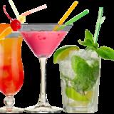 cocktail en el Restaurante El Dharma